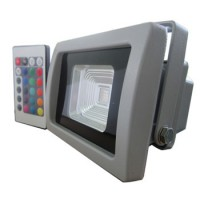 VT-4710 10W LED FLOODLIGHT COLORCODE:RGB WITH RADIO REMOTE CONTROL