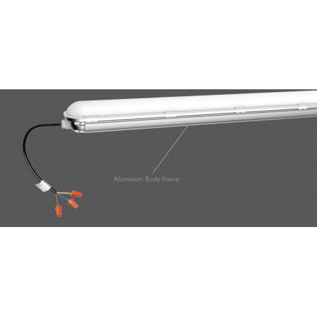 VT-170 70 Watt IP 65 8400 Lumen 1500 mm LED Corrosion Proof