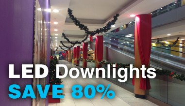LED Downlights - SAVE 80%